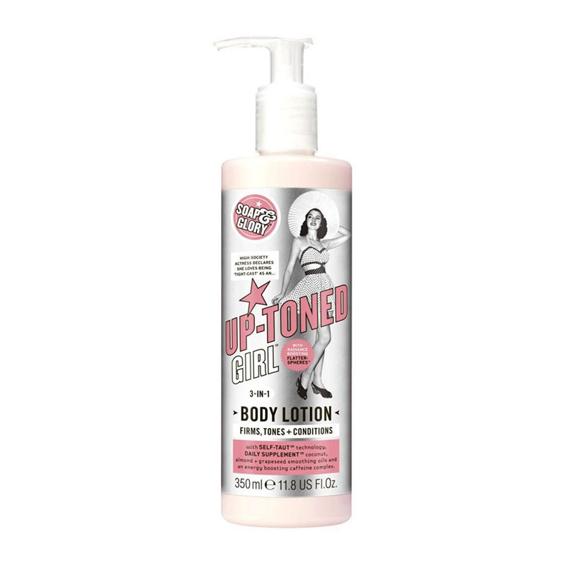 Soap & Glory Up Toned Girl 3 in 1 Body Lotion 350ml