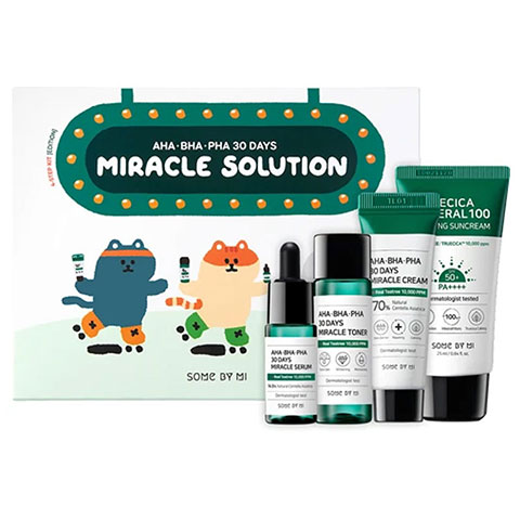 SOME BY MI AHA-BHA-PHA 30 Days Miracle Solution 4-Step Kit Edition