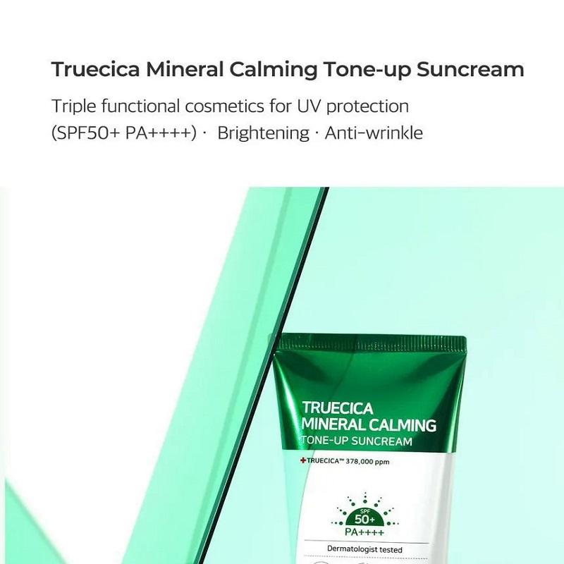 SOME BY MI Truecica Mineral Calming Tone Up Sun Cream 50ml -  SPF50+ PA++++