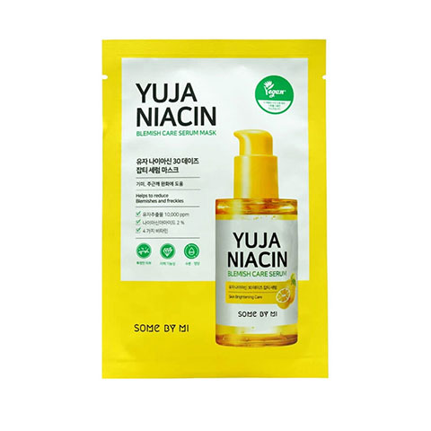 SOME BY MI Yuja Niacin 30 Days Blemish Care Serum Mask 25g