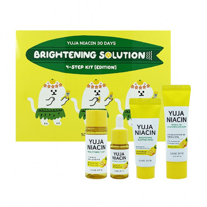 SOME BY MI Yuja Niacin 30 Days Brightening Solution 4-Step Kit