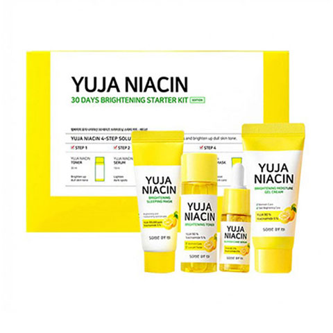 SOME BY MI Yuja Niacin 30 Days Brightening Starter Kit Set