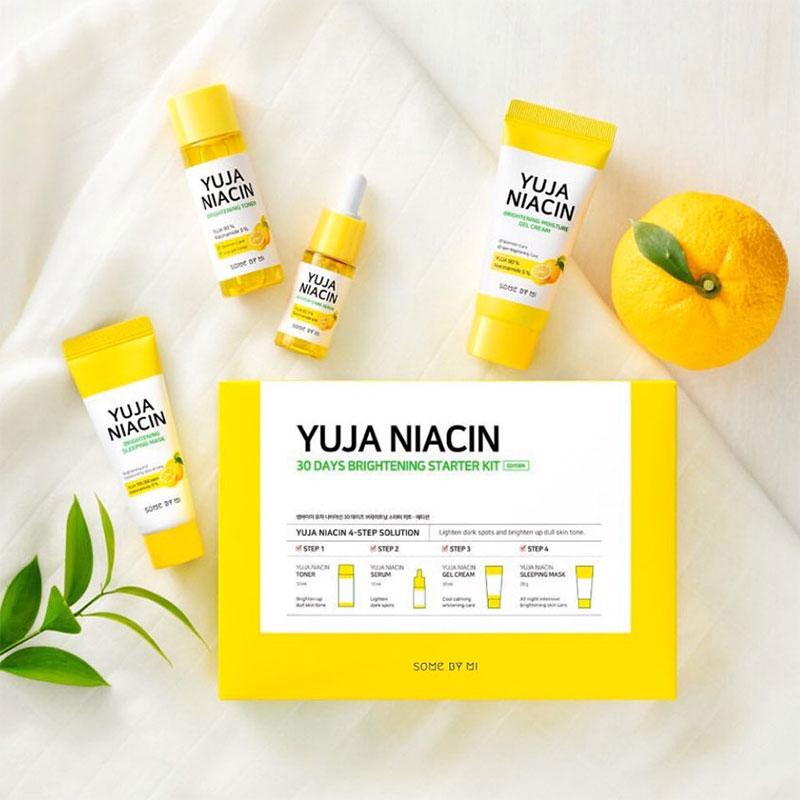 SOME BY MI Yuja Niacin 30 Days Brightening Starter Kit Set