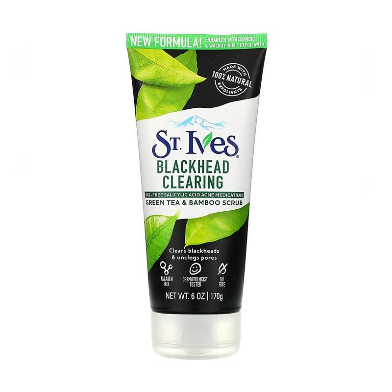 St. Ives Blackhead Clearing Green Tea Scrub 170g