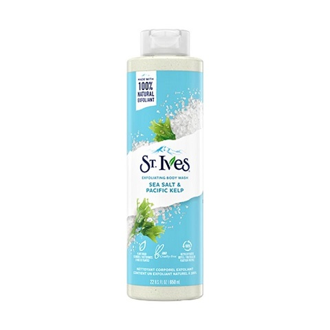 St. Ives Sea Salt & Pacific Kelp Exfoliating Body Wash 650ml