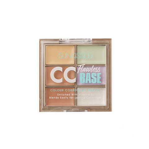 Sunkissed CC Flawless Base Color Correcting Palette