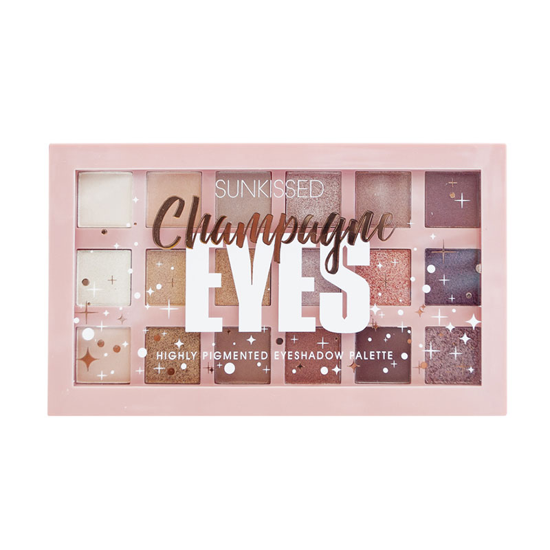 Sunkissed Champagne Eyes Highly Pigmented Eyeshadow Palette
