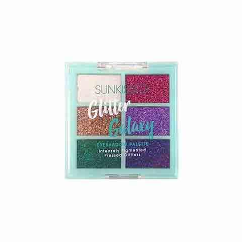 Sunkissed Pressed Glitters Eyeshadow Palette - Glitter Galaxy