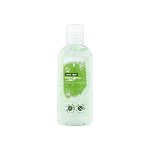 Superdrug Aloe Vera Antibacterial Hand Gel 100ml