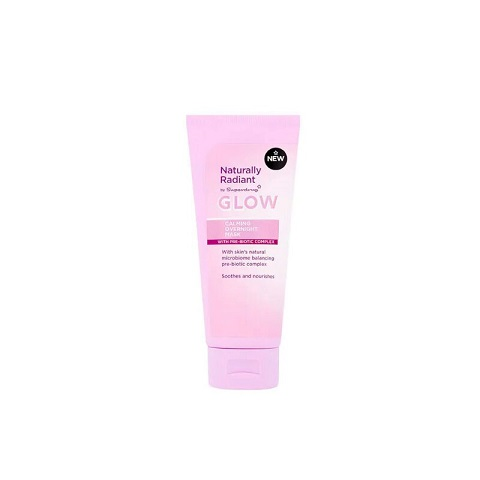 Superdrug Naturally Radiant Glow Calming Overnight Mask 75ml