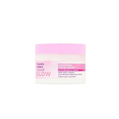 Superdrug Naturally Radiant Glow Soothing Face Cream 75ml