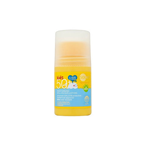 Superdrug Solait Kids Moisturising Roll-On Sun Lotion 75ml - SPF50