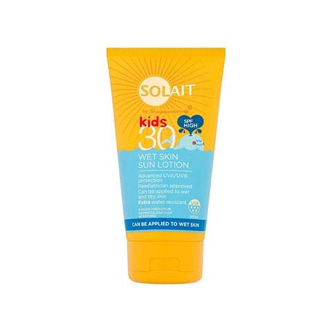 Superdrug Solait Kids Wet Skin Sun Lotion SPF30 - 150ml