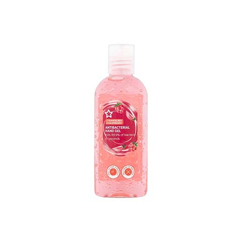 Superdrug Strawberry & Raspberry Antibacterial Hand Gel 100ml