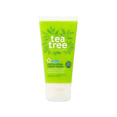 Superdrug Tea Tree Exfoliating Cream Wash 150ml