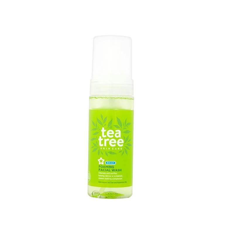 Superdrug Tea Tree Foaming Facial Wash 150ml