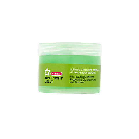 Superdrug Tea Tree Overnight Jelly 75ml