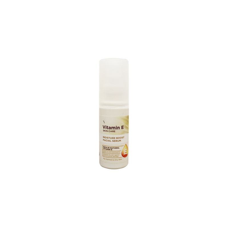 Superdrug Vitamin E Skin Care Moisture Boost Facial Serum For Normal To Dry Skin 50ml