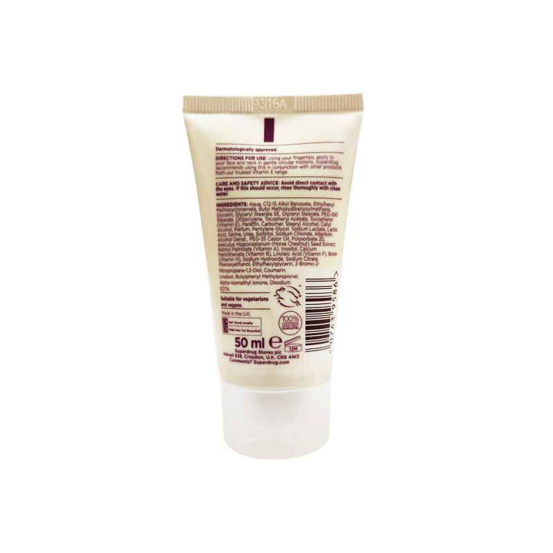 Superdrug Vitamin E SPF15 Moisturising Day Cream  50ml