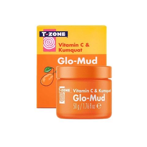 T-Zone Vitamin C & Kumquat Glo-Mud 50g
