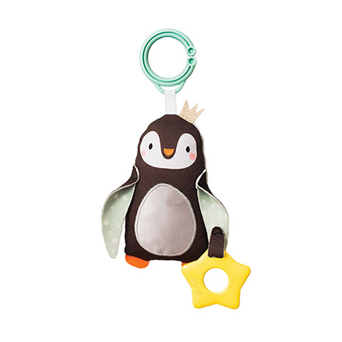 Taf Toys Easier Development Chime Bell Sound 0m+ - Prince The Penguin