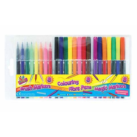 Tallon Artbox 24 Color Pen Set (0922)