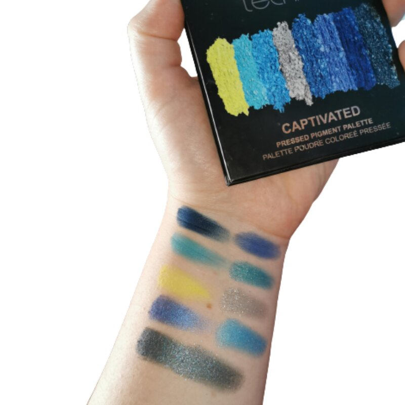 Technic 9 Pressed Pigments Eyeshadow Palette - Captivated