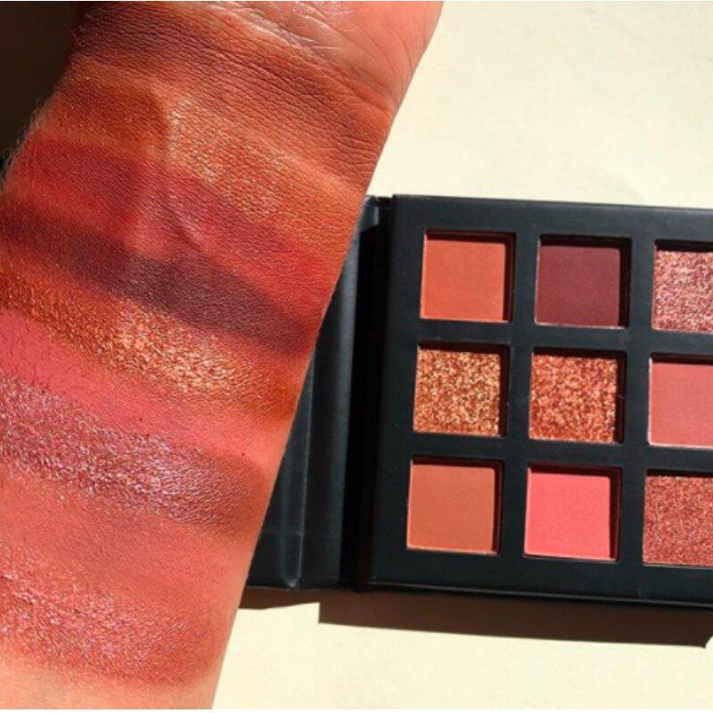 Technic 9 Pressed Pigments Eyeshadow Palette - Entranced