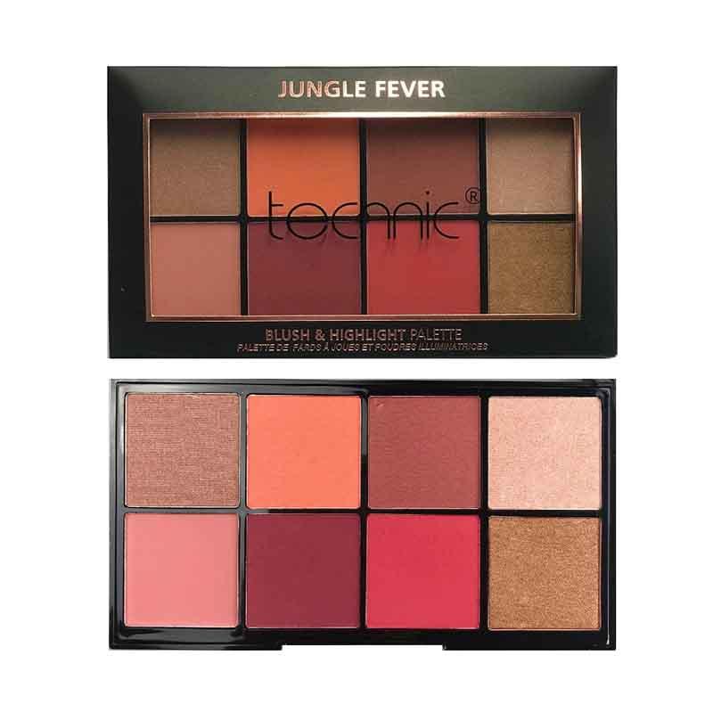 Technic Blush & Highlighter Palette - Jungle Fever