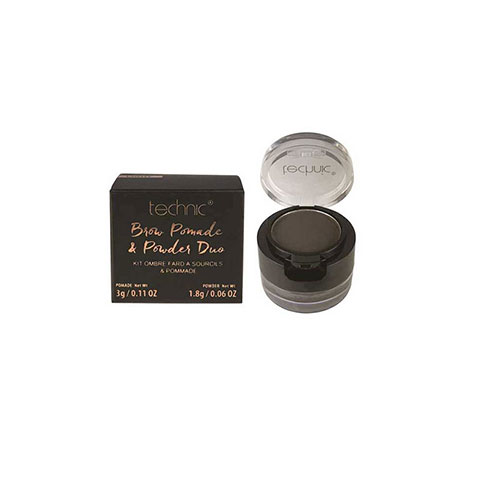 Technic Brow Pomade & Powder Duo Brow Kit - Dark