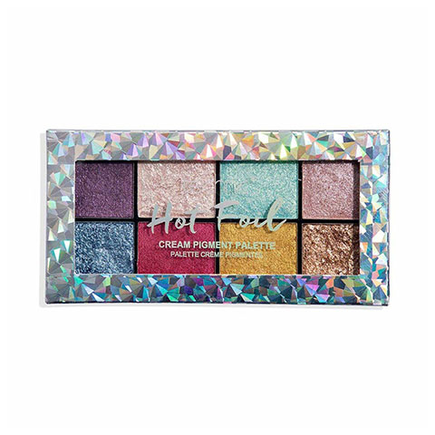 Technic Cream Pigment Eyeshadow Palette - Hot Foil