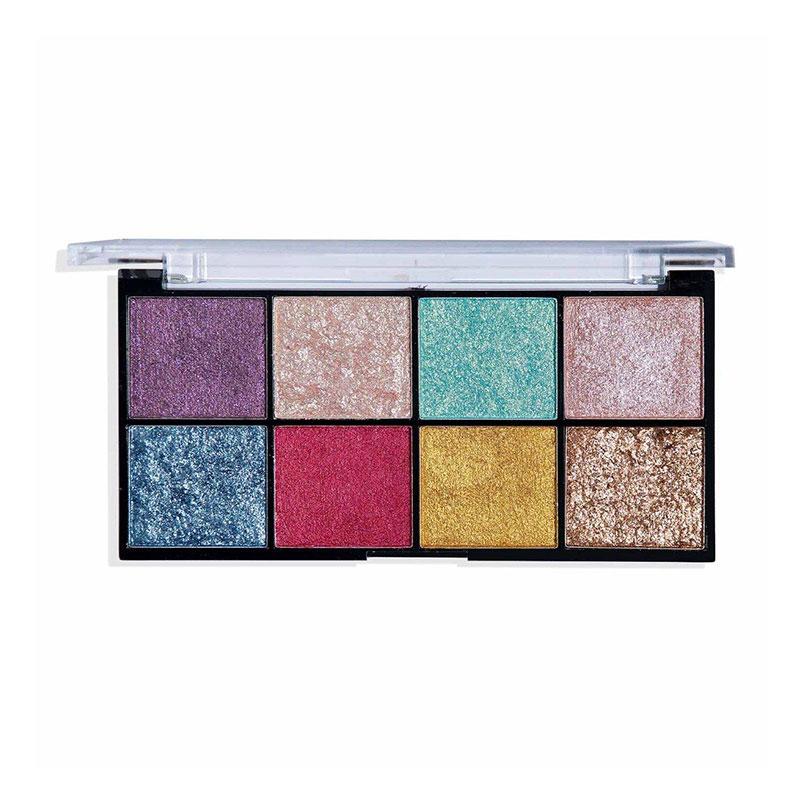 Technic Cream Pigment Eyeshadow Palette - Hot Foil