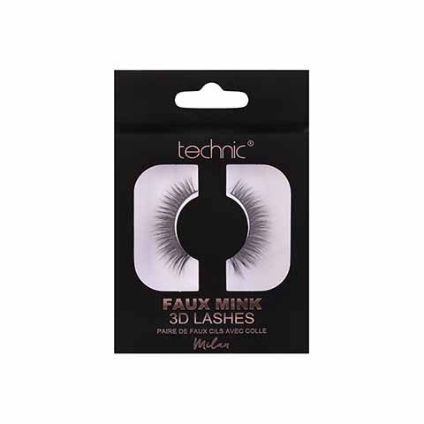 Technic Faux Mink 3D Lashes - Milan