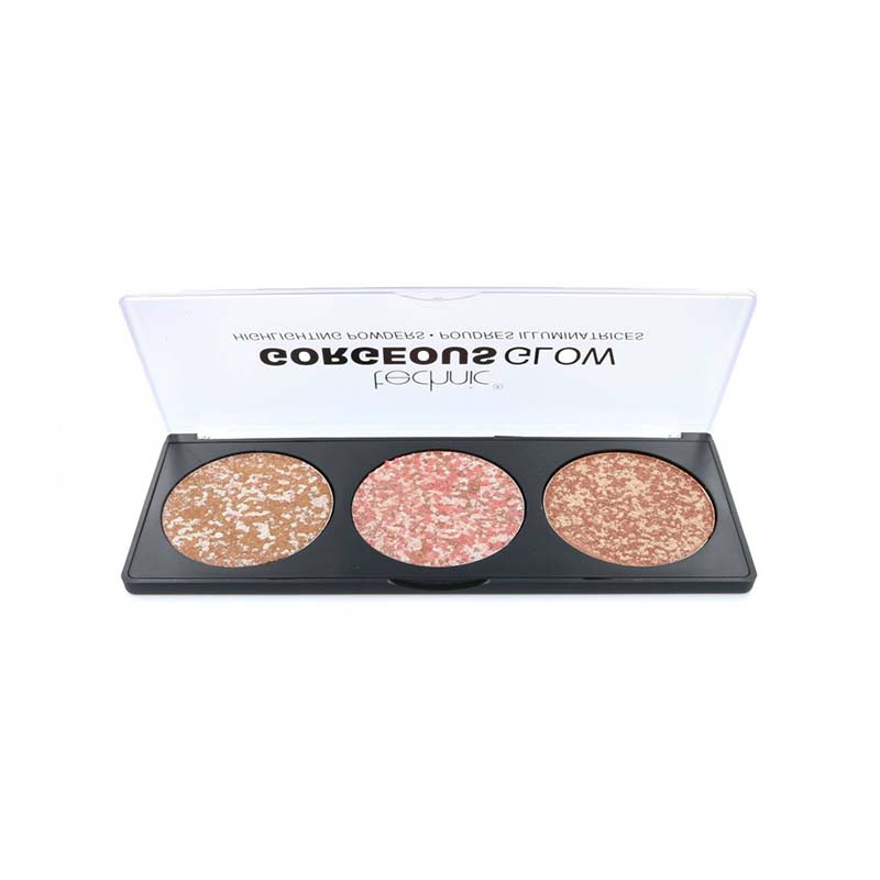 Technic Gorgeous Glow Highlighting Powders Palette