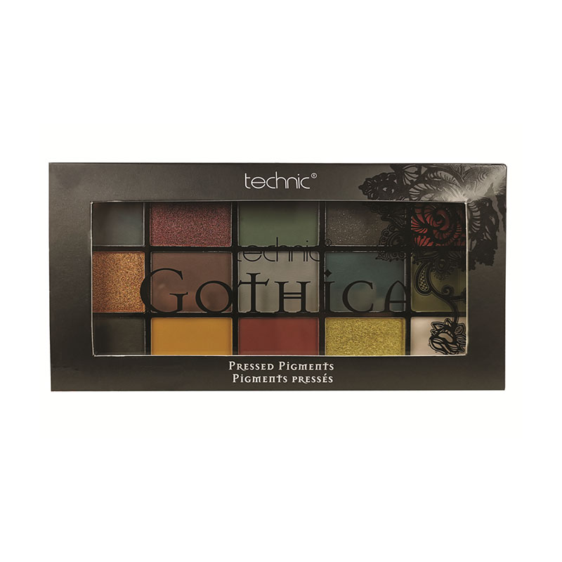 Technic Gothica Pressed Pigment Eyeshadow Palette