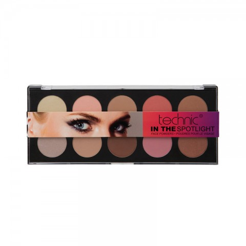Technic In The Spotlight Face Powders Palette