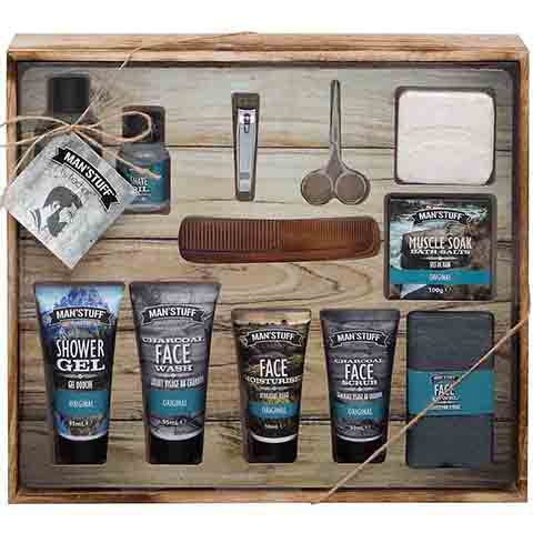 Technic Man's Stuff Mega Man Drawer Toiletries Gift Set