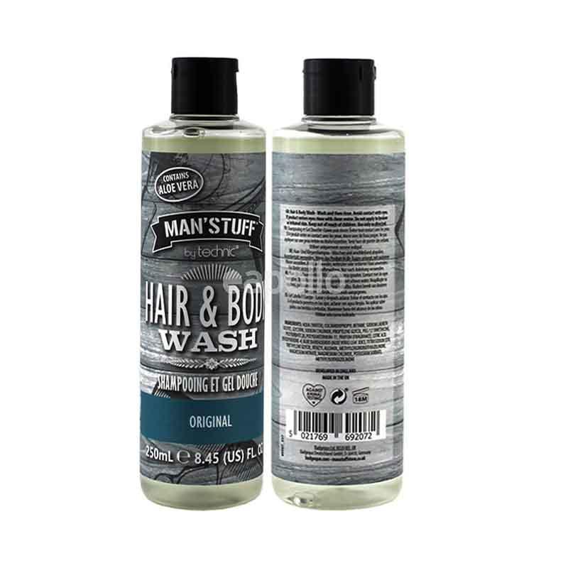 Technic Man's Stuff Original Hair & Body Wash 250ml
