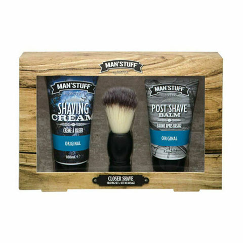 Technic Man'Stuff Closer Shave Shaving Set (7016)