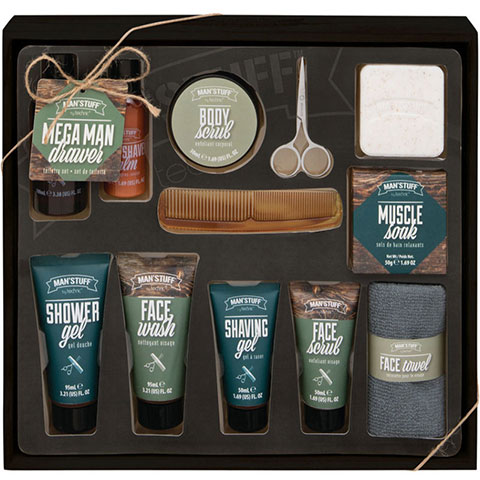 Technic Man'Stuff Mega Man Drawer Toiletries Gift Set (7176)