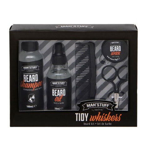 Technic Man'Stuff Tidy Whiskers Beard Kit (0114)