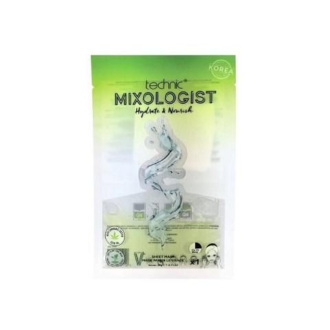 Technic Mixologist Hydrate & Nourish Sheet Mask 20g
