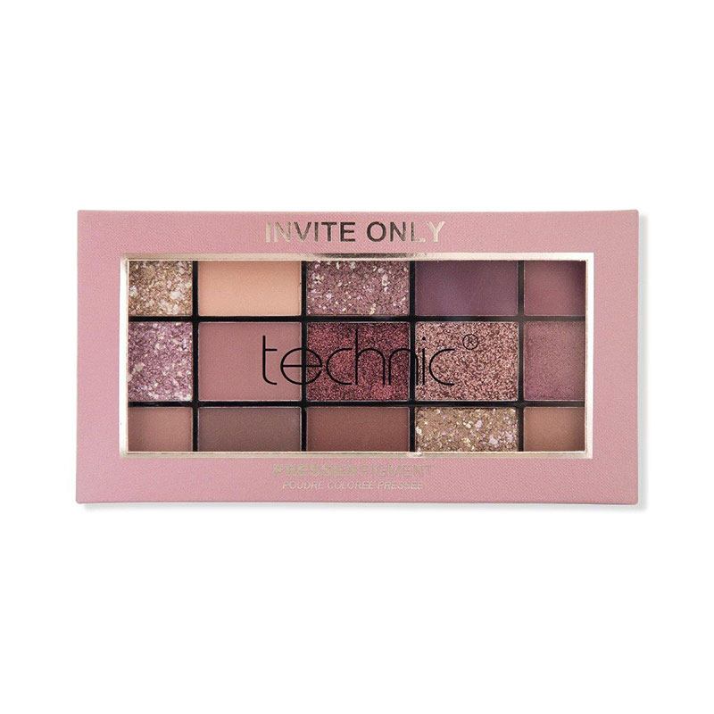 Technic Pressed Pigment Eyeshadow Palette - Invite Only