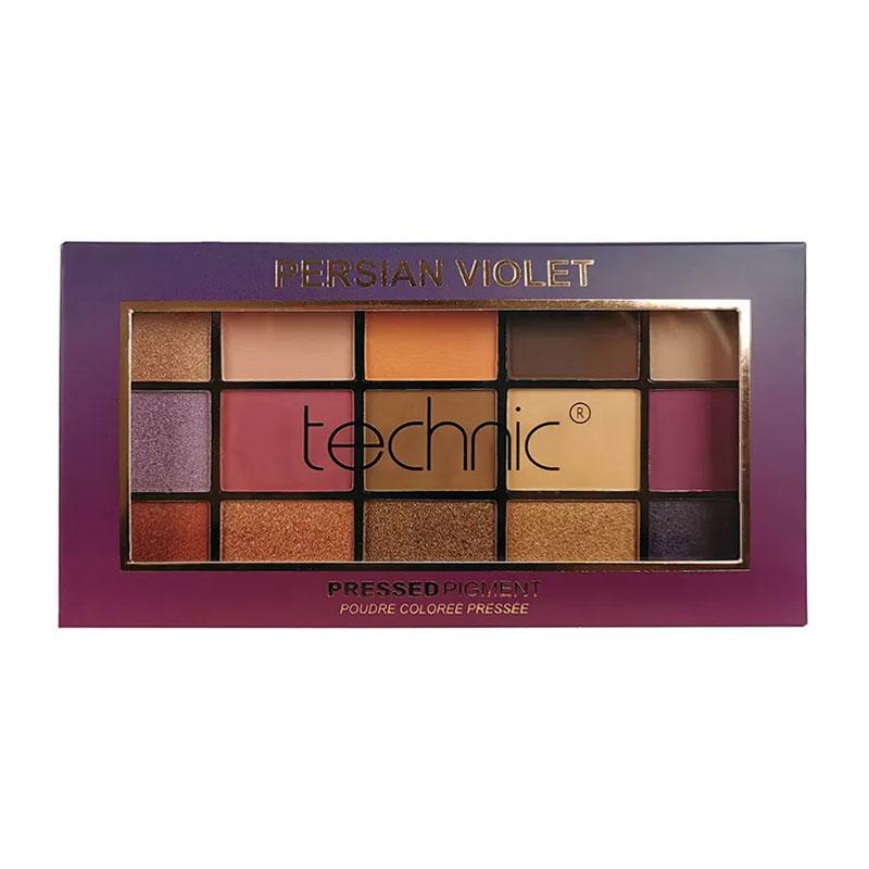Technic Pressed Pigment Eyeshadow Palette - Persian Violet