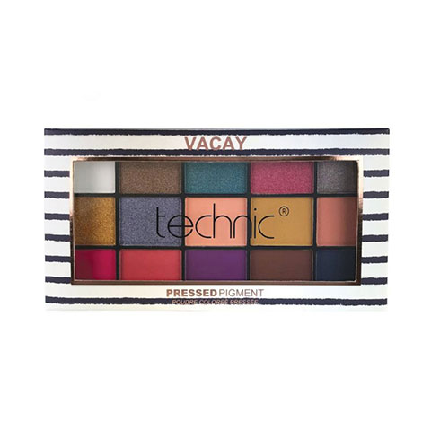 Technic Pressed Pigment Eyeshadow Palette - Vacay