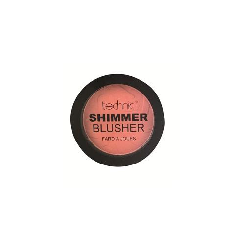 Technic Shimmer Blusher 11g - Coral Bay
