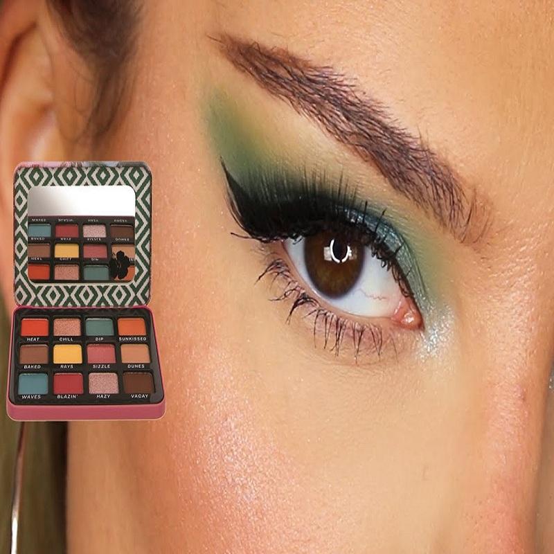 Technic Summer Vibes Pressed Pigment Eyeshadow Palette