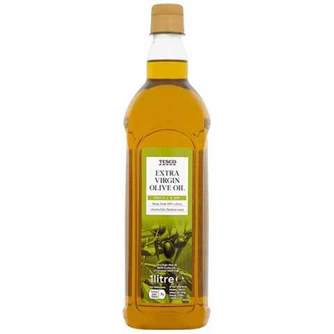 Tesco Extra Virgin Olive Oil 1ltr