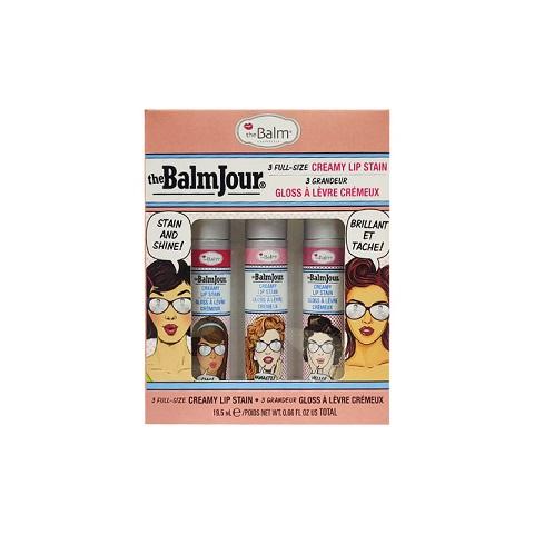 The Balm Cosmetics The BalmJour 3 Full-Size Creamy Lip Stain Set