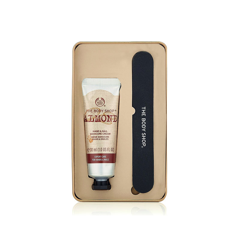 The Body Shop Almond Hand Cream & Nail Set